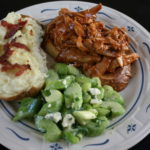 Thanksgiving Leftovers: BBQ Turkey & Celery Salad