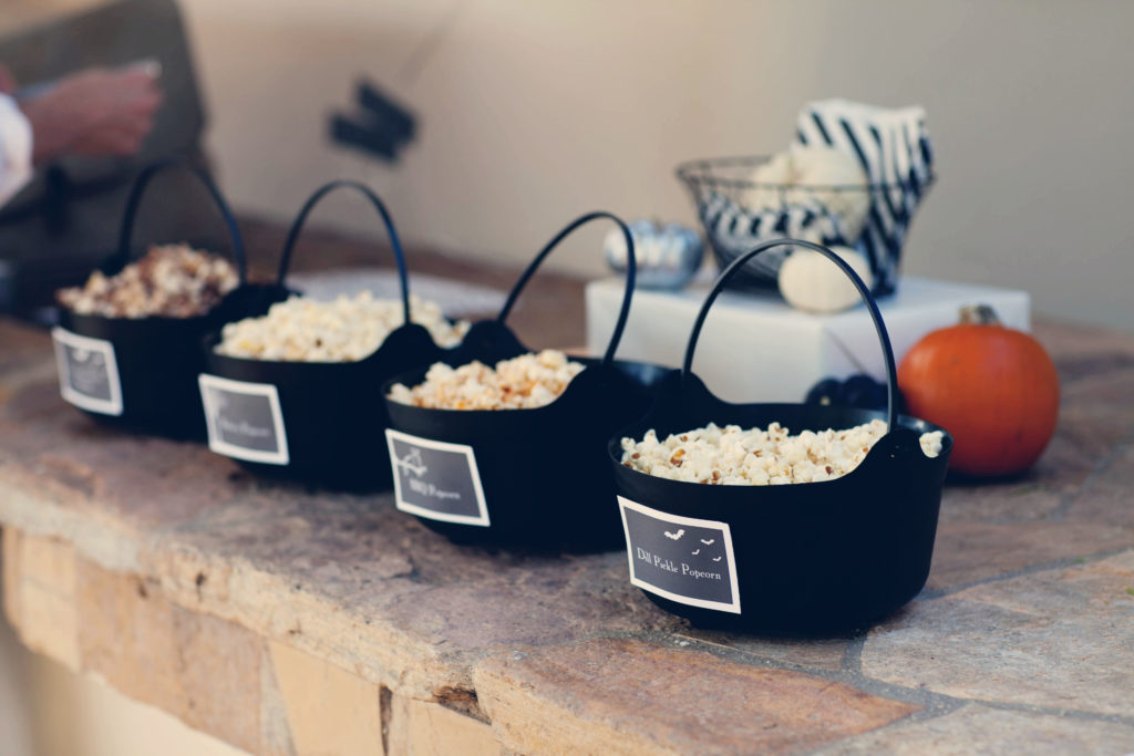 Smash Cake SoCal | Spooky Halloween Party, popcorn bar, scary, banner