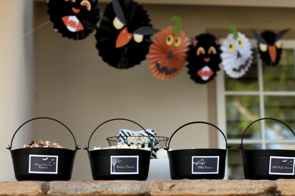 Smash Cake SoCal | Spooky Halloween Party, popcorn, scary, banner