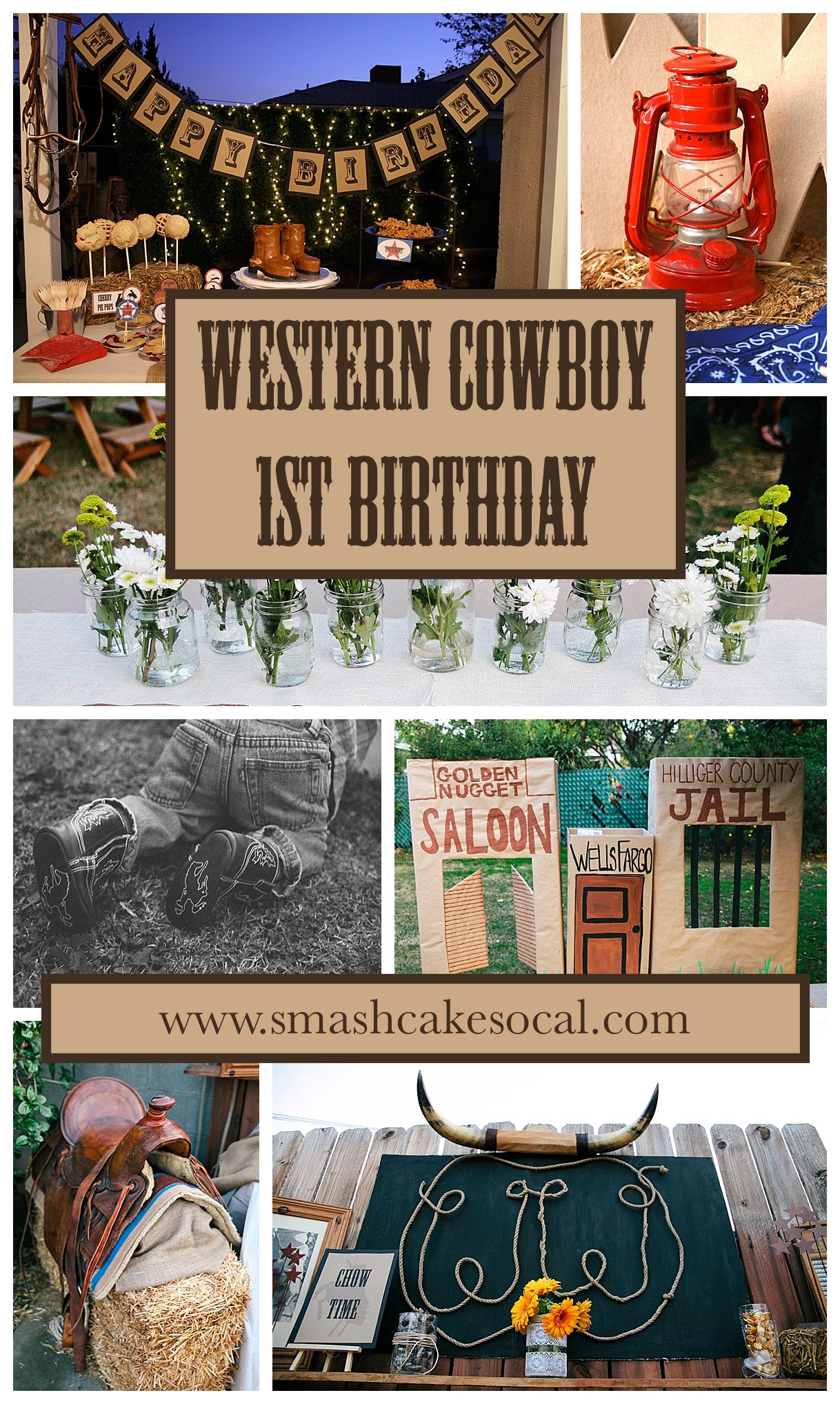 Diy Western Cowboy Twins 1st Birthday Party Free Digital Download