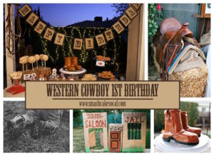 Smash Cake SoCal | Rustic Western Cowboy 1st Birthday FREE digital download, free cupcake toppers, free circle tags, free food labels, vintage, eye-haw, rope art, rope name, western party decor, dessert bar, food