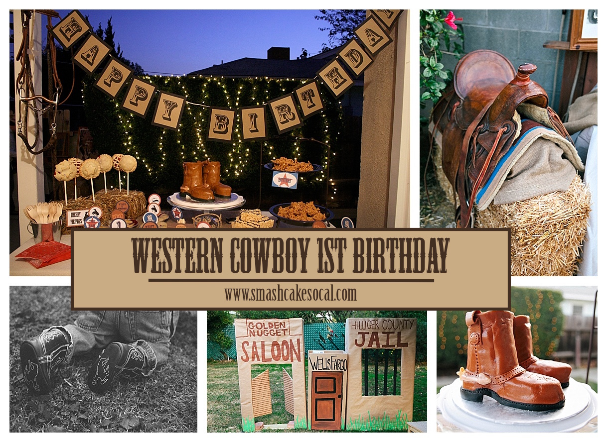 Diy Western Cowboy Twins 1st Birthday Party Amp Free Digital