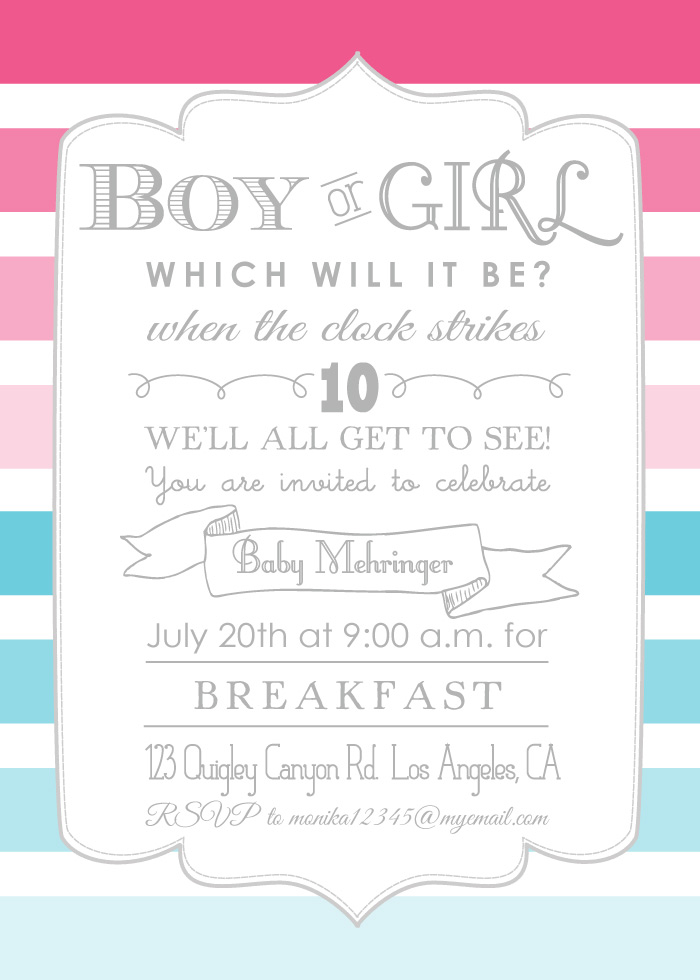 boy or girl gender reveal