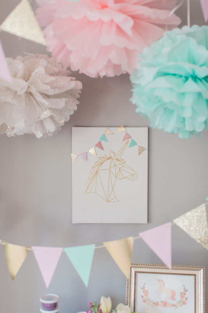 Marigold Mom | Magical Pink, Gold & Mint Unicorn Party