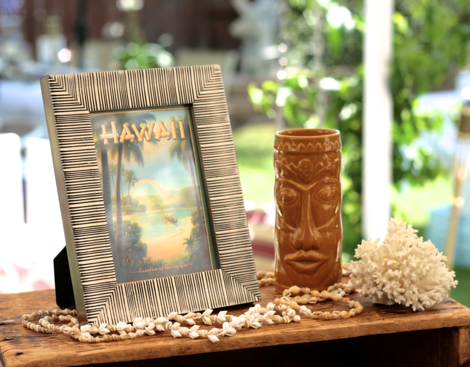 Marigold Mom | Vintage Luau Hawaiian Bridal Shower