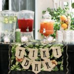 Vintage Hawaiian Luau Bridal Shower