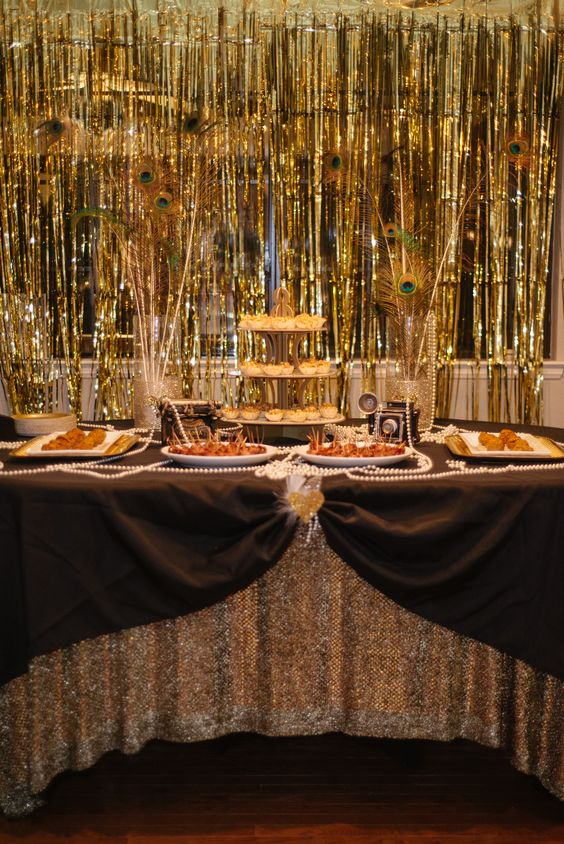 Great Gatsby Bridal Shower | Marigold Events