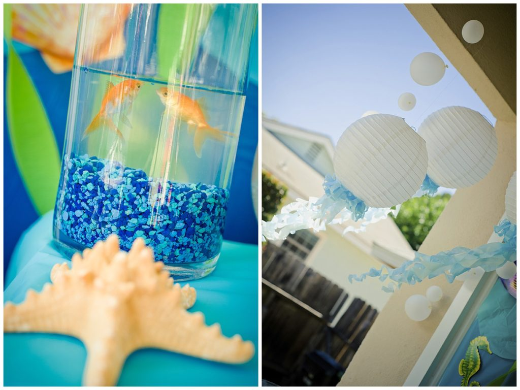 Marigold Mom | Under the Sea Water Party , Summer Party, Fish, Decorations, Jellyfish Lantern, Goldfish