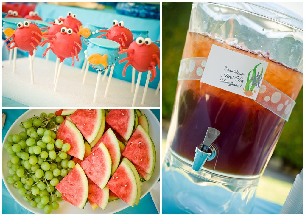 Marigold Mom | Under the Sea Water Party , Summer Party, Fish, Party Food, Cake Pops, Fishy Fruit, Drinks