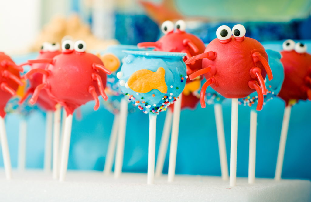 Marigold Mom | Under the Sea Water Party, Summer Party, Cake Pops