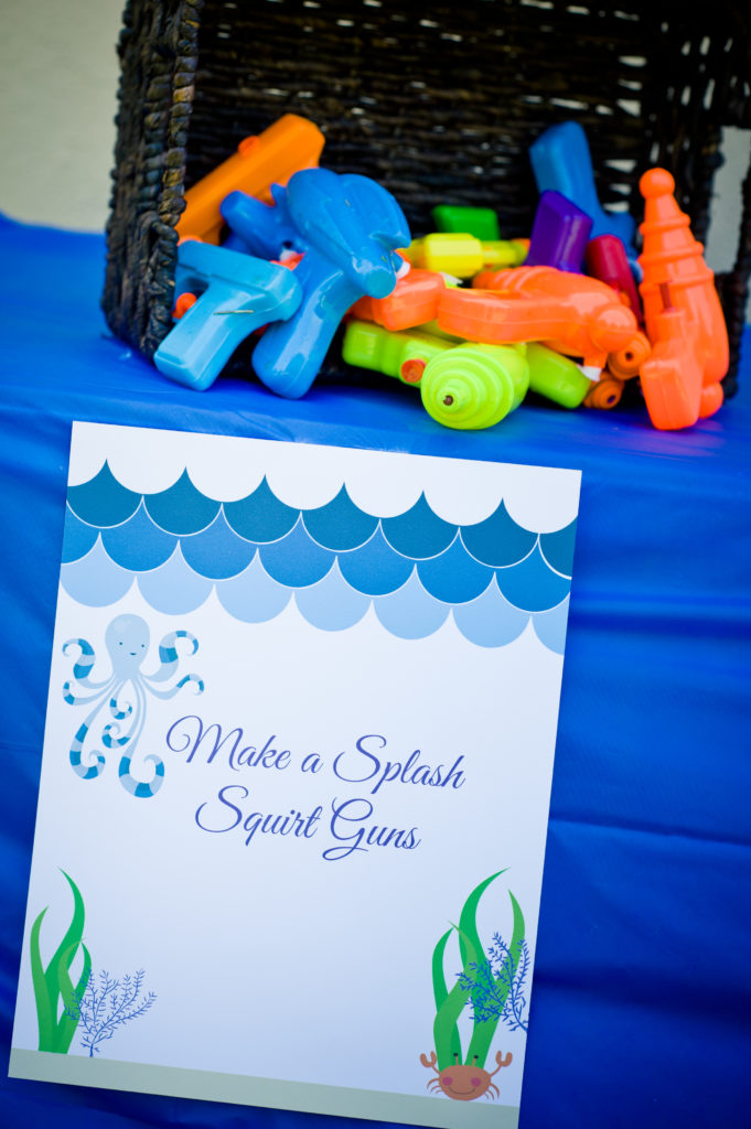 Marigold Mom | Under the Sea Water Party , Summer Party, Activities, Water Guns, Water Games