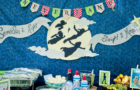 Smash Cake SoCal | Peter Pan Neverland Boys Birthday Party, Tinkerbell, Captain Hook, Jolly Roger, Pirate, Pixie Dust