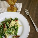 Spinach Quinoa Salad with Pesto