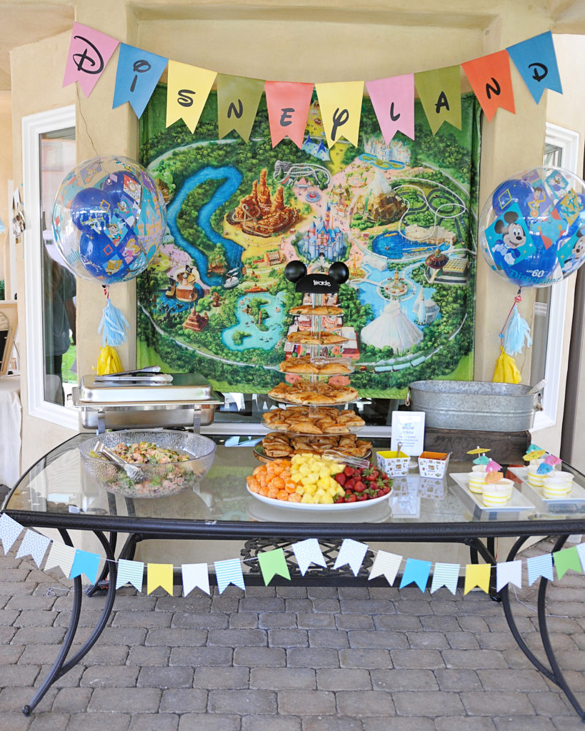 Smash Cake SoCal | Vintage Disneyland Baby Shower for Baby Boy, mickey mouse, mickey head, cupcakes, mickey rice krispies, magic kingdom, happiest place on earth, disneyland food