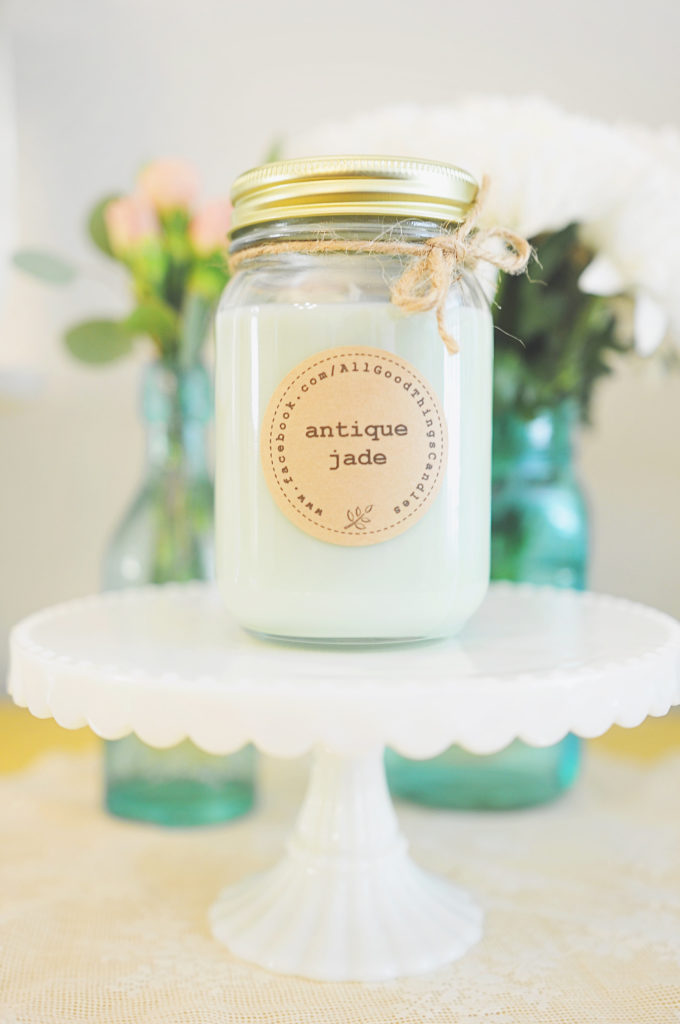 Smash Cake SoCal | A Fall-Themed Candle Making Party