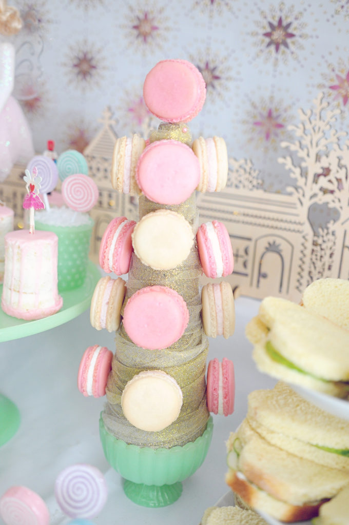Smash Cake SoCal | Nutcracker Ballet Birthday Party, Christmas, Holiday, Girls Birthday, Land of Sweets, Macaron Tree