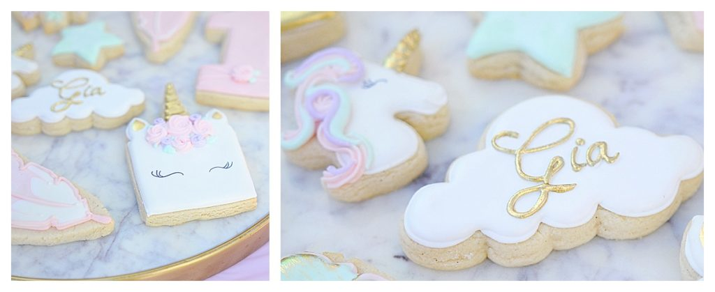 Smash Cake SoCal | Bohemian Unicorn 1st Birthday, boho, unicorn, pink, balloon garland, dream catcher, unicorn cake, unicorn head, hand lettering, chalk sign, unicorn horn cupcakes, balloon centerpiece, unicorn cookies