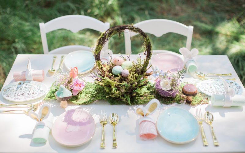 Whimsical Woodland Easter Egg Hunt