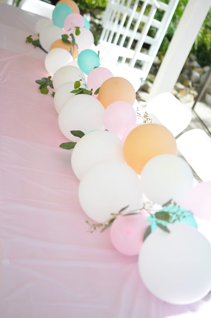 Smash Cake SoCal | Bohemian Unicorn 1st Birthday, boho, unicorn, pink, balloon garland, dream catcher, unicorn cake, unicorn head, hand lettering, chalk sign, unicorn horn cupcakes, balloon centerpiece