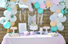 Smash Cake SoCal | Bohemian Unicorn 1st Birthday, boho, unicorn, pink, balloon garland, dream catcher, unicorn cake, unicorn head