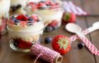 Smash Cake SoCal | Patriotic Dessert on the Go, berries, America, Merica, USA, mason jar, travel, berry trifle